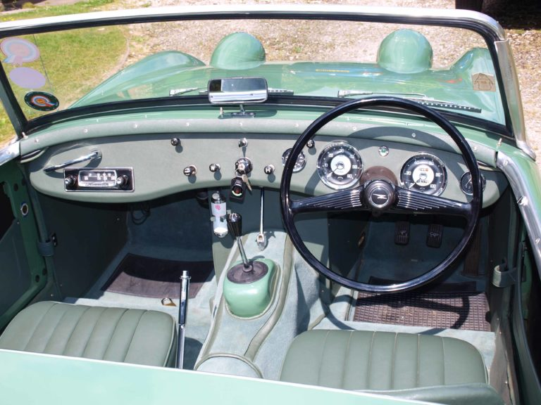 Radiomobile 51T in Austin Healey Sprite