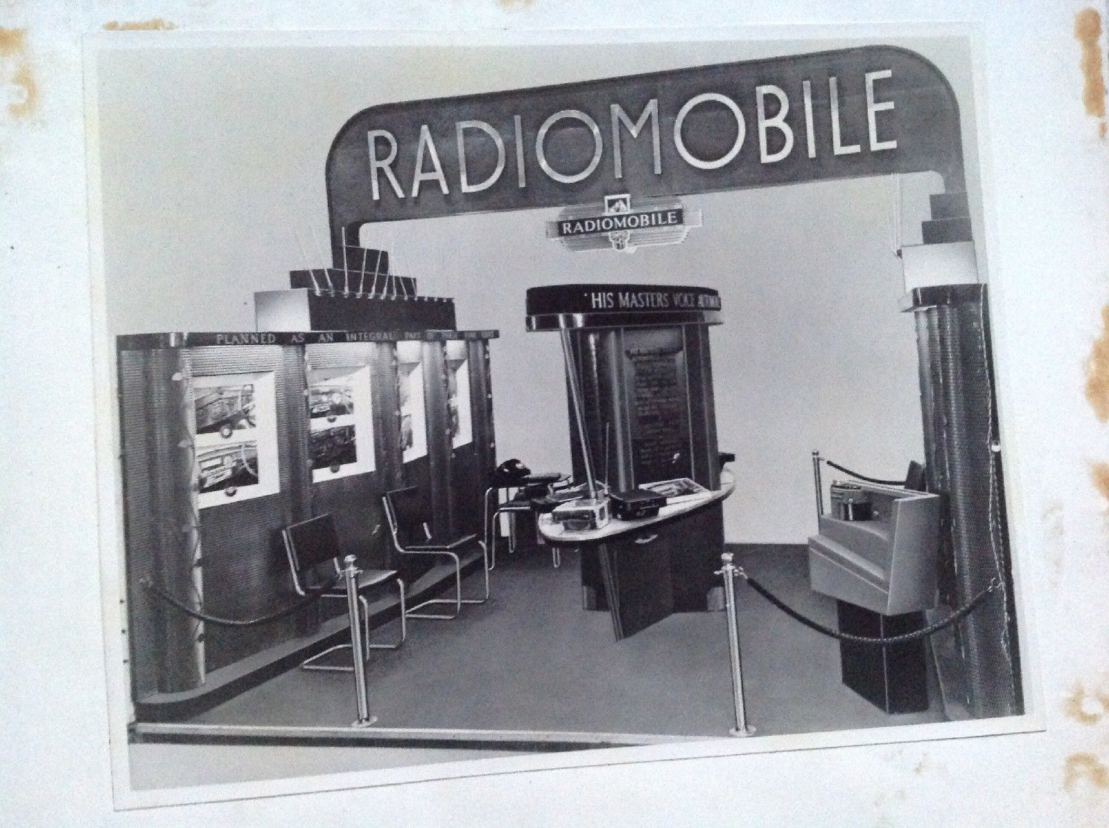 Radiomobile Exhibition Stand