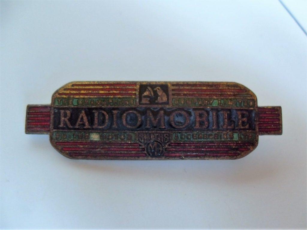 Original Radiomobile Emblem