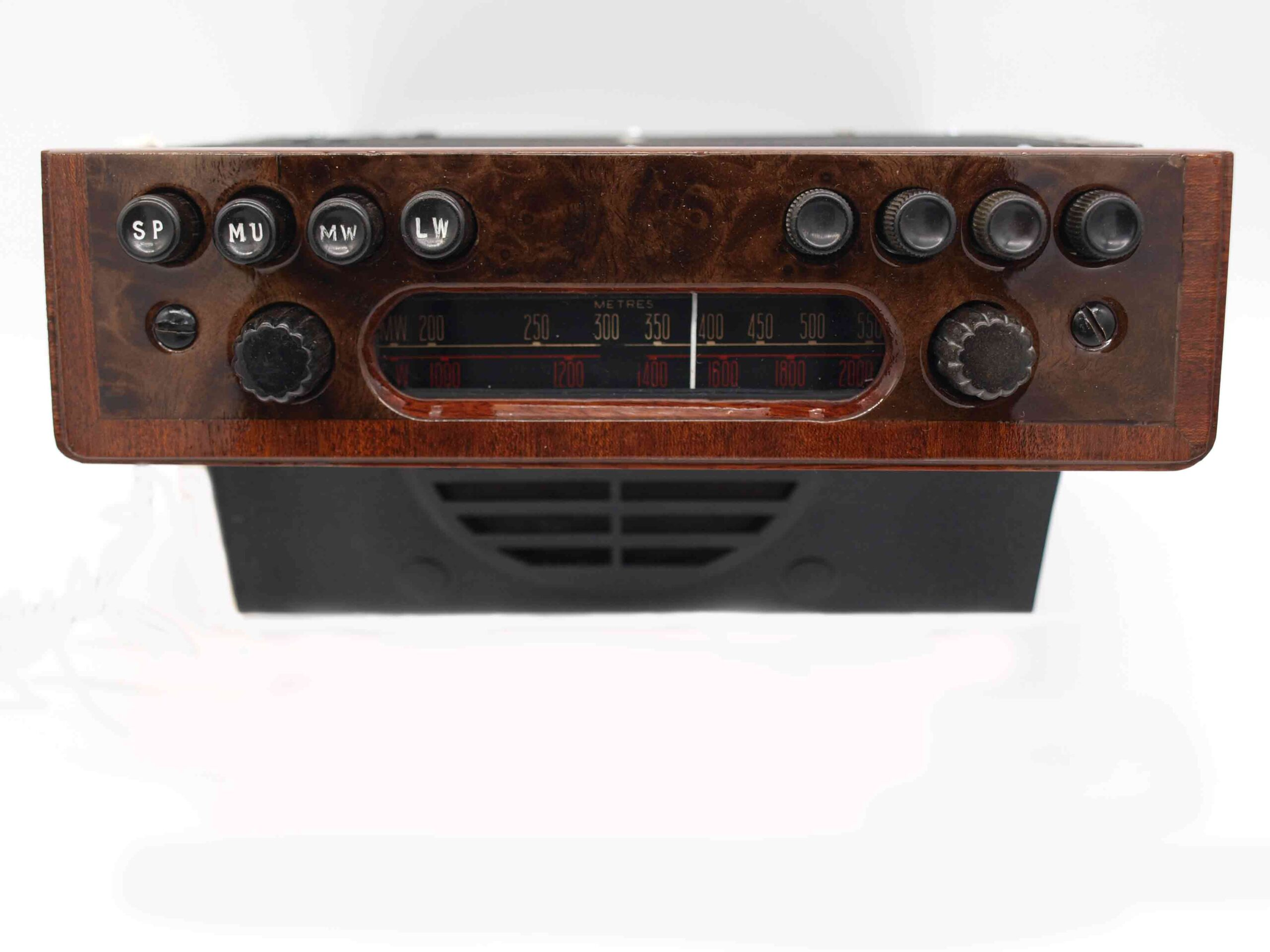 Radiomobile 100 with Wooden Faceplate